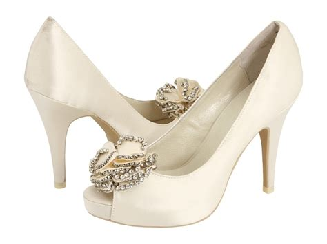 White Wedding Shoes by Bridal Shoes Niche White Bridal Loft