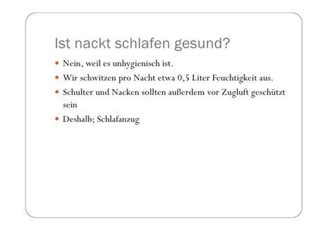 nackt schlafen gesund npk2011 schlafst 246 rungen
