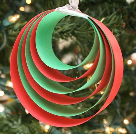 and easy ornaments easy paper ornament craft fantastic learning