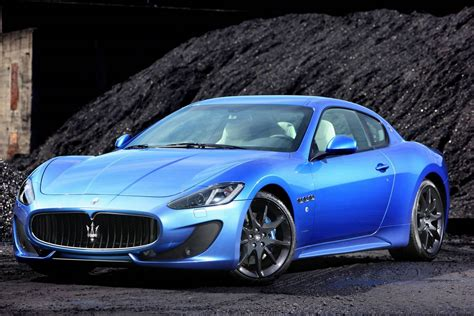 Gallery Blue Maserati Granturismo Sport On The Road