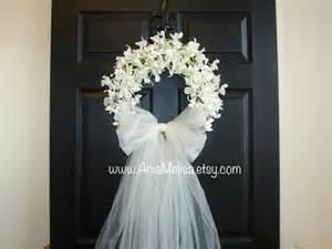 Wedding Wreaths For Front Door Wreath Wedding Wreaths Front Door Wreaths Outdoor Bridal