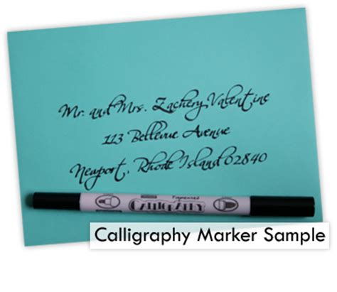 what is the best pen for addressing wedding invitations best calligraphy pens to write on wedding envelopes lci