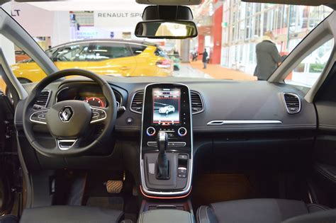 renault scenic 2017 interior 2017 renault grand scenic interior dashboard at 2016