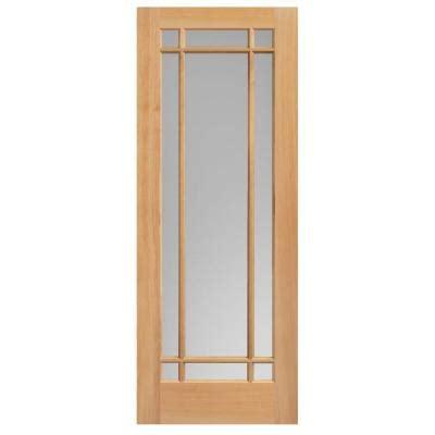 84 Lumber Interior Doors by Masonite 36 In X 84 In Prairie Unfinished Fir Veneer 9