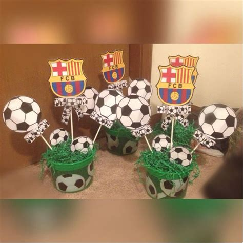 Baby Shower Soccer Theme by Soccer Theme Centerpieces Creations