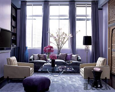 Purple Living Room Decor Decor Your Living Room With Purple Hues