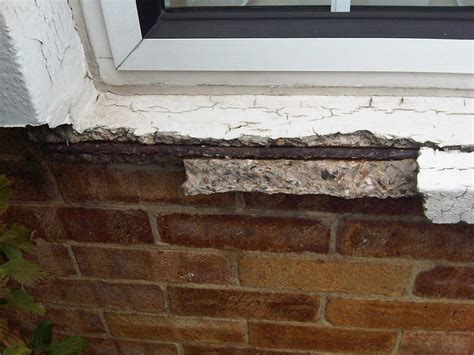 Fix Window Sill Repair Concrete Window Sill Which Is Crumbling
