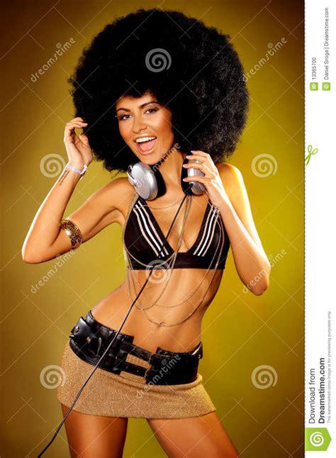 Afro Girl Stock Photo   Image: 13365700
