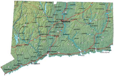 Search Connecticut Map Of Connecticut Connecticut Maps Mapsof Net