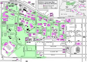 tech map of cus map of fsu cus buildings