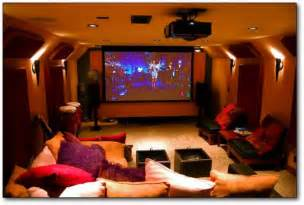 Home Technology Ideas by Home Decor Ideas Mini Family Home Theater Room Design