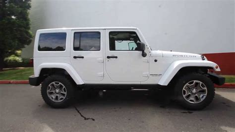 jeep rubicon all white el115488 2014 jeep wrangler unlimited rubicon