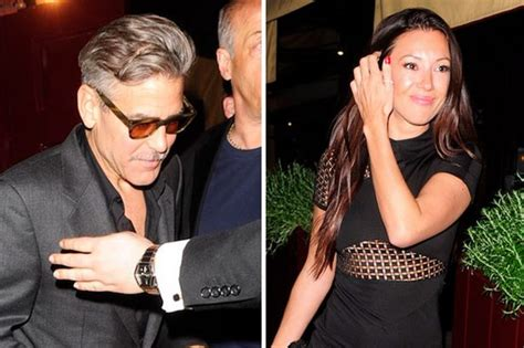 And George Clooney Might Be Dating by George Clooney Dating Monika Jakisi Mirror