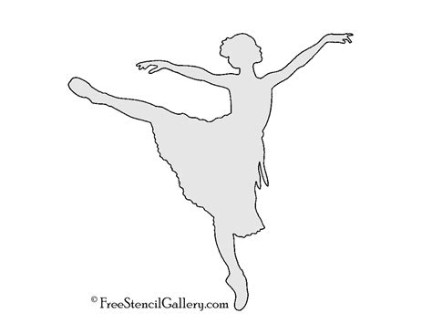 printable ballerina templates pictures to pin on pinterest