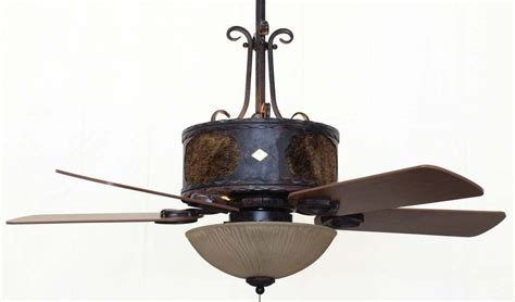 western ceiling fans with lights copper canyon old forge ceiling fan rustic lighting and fans