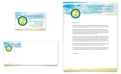 community templates community service letterhead sle free printable