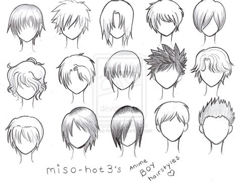 Anime Hairstyles For Guys by Gallery Anime Boy Curly Hairstyles