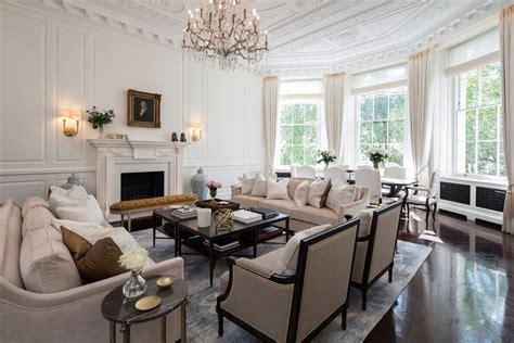 regency living room contemporary regency design in belgravia dk decor