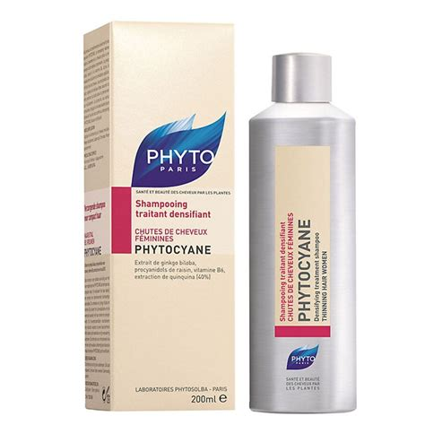 hair product for thin wiry hair phyto phytocyane densifying treatment shoo thinning