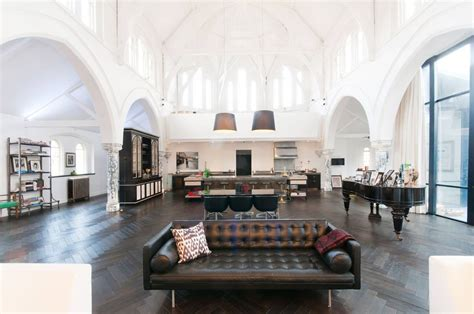 Underground House Floor Plans by A Massive London Church Is Transformed Into An