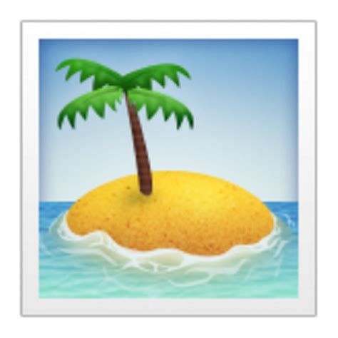 Trees And Their Meanings by Desert Island Emoji U 1f3dd