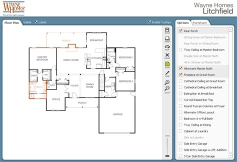 interactive home design design your own floor plan online with our free