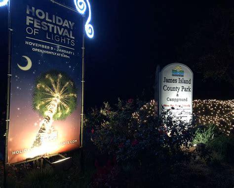 james island holiday festival  lights flips  switch friday night
