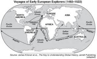 European Exploration Map by Age Of Exploration Map Activity Map Preview Example