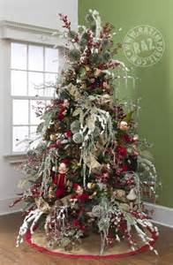 Decorated christmas trees and list of products trendy tree blog