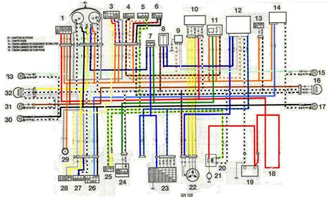 электросхема сузуки мотоцикл схема электрооборудования