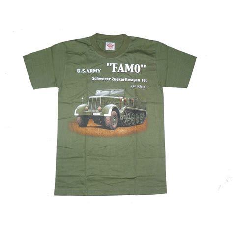 Famo Tshirt t shirt famo oliv t shirt us t shirt t shirt halbarm