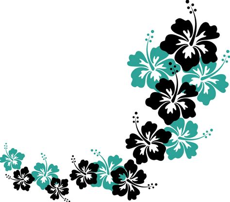 flower design images hibiscus flower designs cliparts co