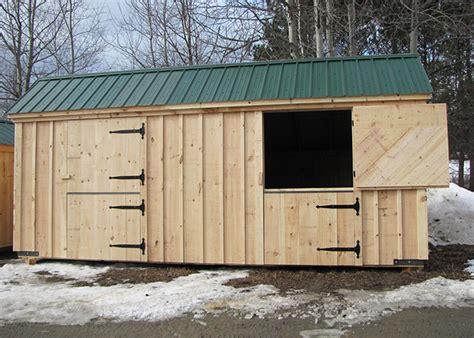 Two Stall Horse Barn Prefab Horse Stalls Prefabricated Horse Barns