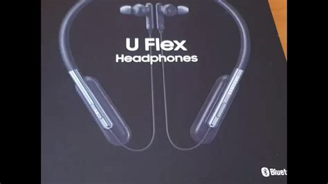 samsung u flex manual samsung u flex headphones eo bg950 unboxing