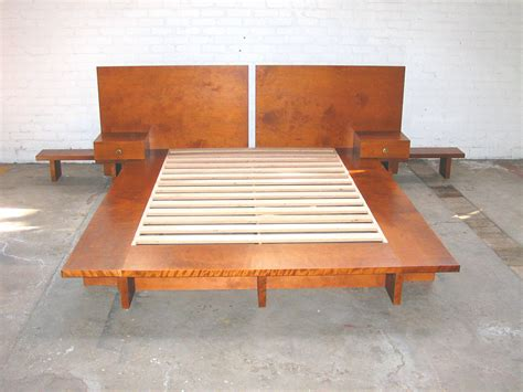how to make a size bed frame how to make a platform bed frame size