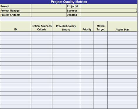 quality control plan template 7 free word pdf dinosauriens info