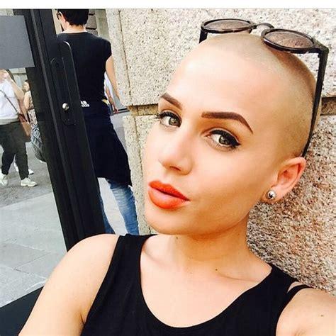 instagram pix of women shaved hair and waves bald girls on instagram hair pinterest gorgeous