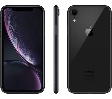 apple iphone xr  gb black fast delivery currysie