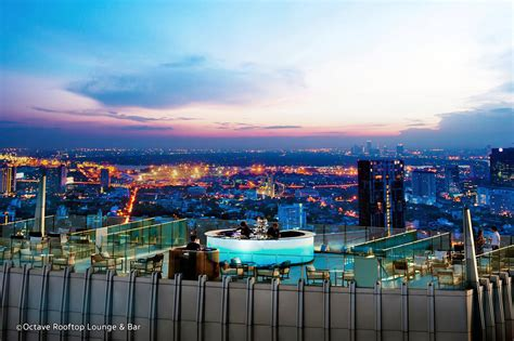 roof top bar in bangkok octave rooftop bar at bangkok marriott hotel sukhumvit