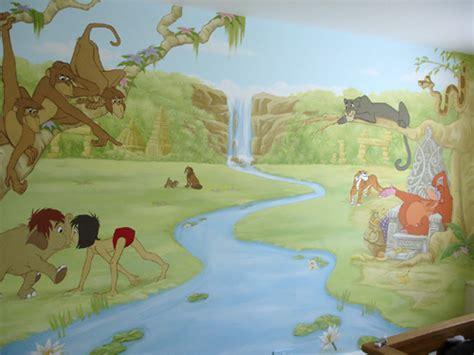 Nursery Wall Murals junglebook wall mural