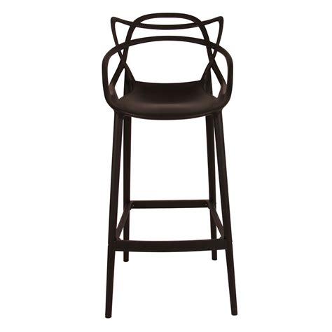 ribbon stool in black caf 233 furniture brisbane