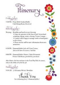 bridal shower itinerary template jerry s jubilee folk inspired invites