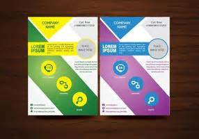 layout brosur gratis seasonal leaflet template download free vector art