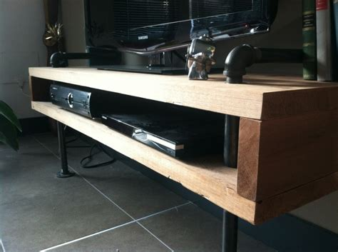 Plumbing Pipe Tv Stand by Diy Minimalist Tv Stand Meticulous Mrs