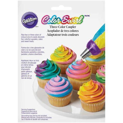 wilton colors colorswirl 3 color coupler wilton
