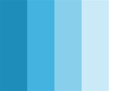 Soothing Blue Color | soothing blue balanced color palette