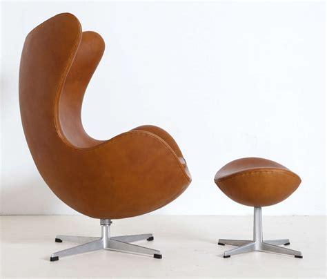 arne jacobsen egg chair ottoman arne jacobsen quot egg quot chair with ottoman at 1stdibs