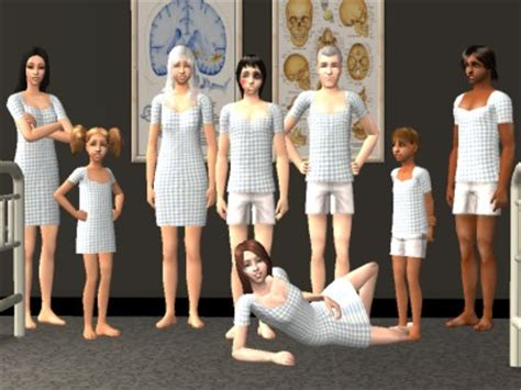 hospital gown sims 4 cc mod the sims member momodoll