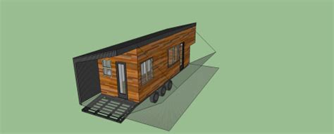 Are Trailers Holding Tiny Houses Back The Tiny Life Semi Trailer Tiny House Plans