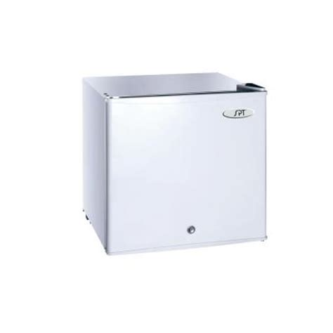 spt 1 1 cu ft upright compact freezer in white uf 150w